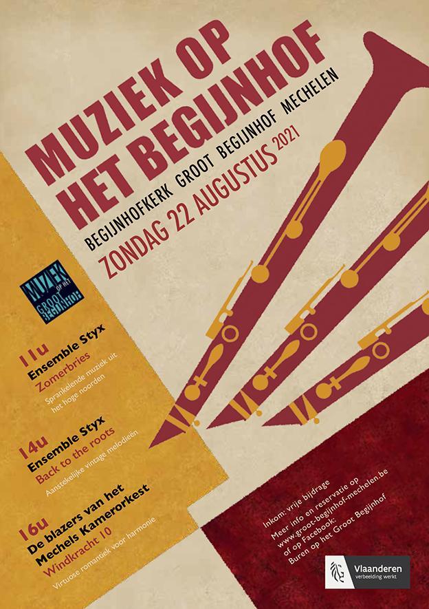 Flyer klarinetten voorkant